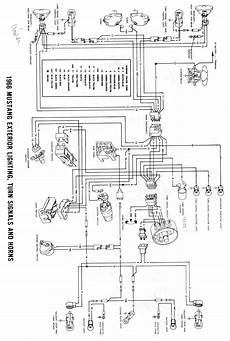 1966 mustang headlight wiring diagram 1966 mustang emergency come on with turn indicator ford mustang forum
