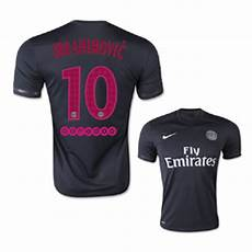 nike psg zlatan ibrahimovic 10 decept soccer jersey 2015