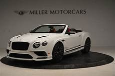 bentley continental gt supersport used 2018 bentley continental gt supersports convertible
