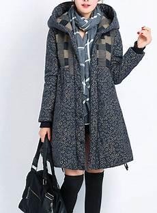 frauen winter mit kapuze verdicken mantel fashion