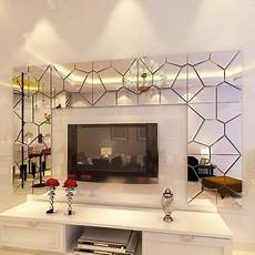 7 35pcs self adhesive 3d acrylic removable mirror tile acrylic mirror sheets mirror decal art