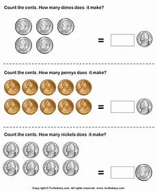 money printables for kindergarten 2664 make same amount with different number of coins worksheet turtle diary