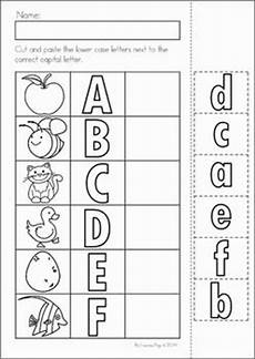 cut and paste letter worksheets for kindergarten 23464 17 best images about alphabet activities for the classroom on letter crafts
