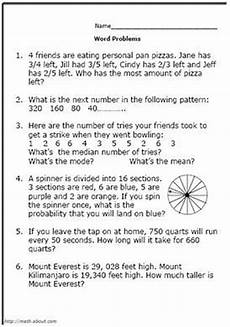 division worksheets grade 5 word problems 6567 pin on a