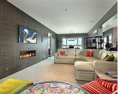 tile fireplace wall home design ideas pictures remodel