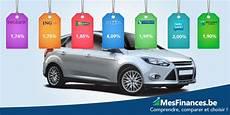 voiture de pret pr 234 t voiture comparer 25 taux cr 233 dit auto en belgique mes finances be