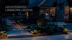 kichler lighting led integrated landscape lighting youtube