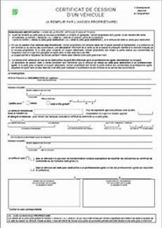 Marubricabrac Certificat De Cession Gratuit