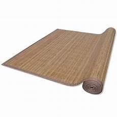 bambus teppich vidaxl bambus teppich l 228 ufer bambusteppich k 252 chenteppich