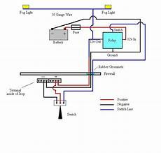 Fog Light Wiring Diagram With Images Electrical Wiring
