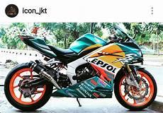Modifikasi Cbr 250 by Modifikasi Honda Cbr250rr Livery Repsol Mick Doohan Nsr500