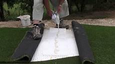 pose de gazon synthétique pose et r 233 alisation d un putting green en gazon