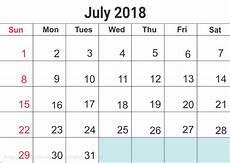 Kalender 2018 Juli - juli 2018 kalender norge helligdager utskriftsvennlig mal