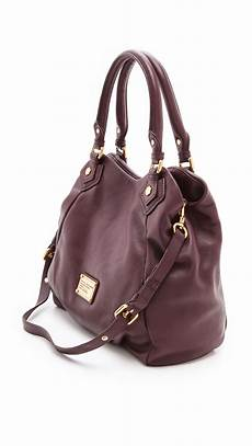 marc by marc classic q fran bag in brown lyst