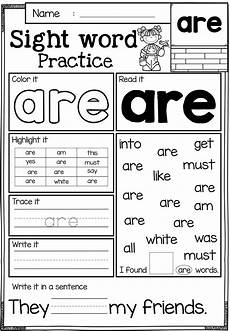 sight word practice primer sight word practice sight word worksheets sight words