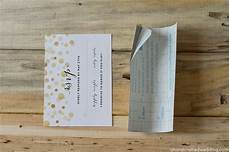 how to add gold to diy wedding invitations mountain modern life