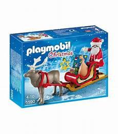 Playmobil Weihnachtsmann Ausmalbild Playmobil Schlitten Mit Weihnachtsmann Und Rentier