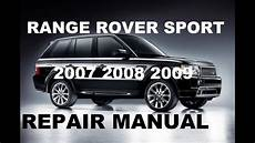 free service manuals online 2007 land rover range rover engine control range rover sport 2007 2008 2009 repair manual youtube