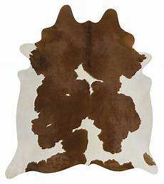 kuhfell teppich braun cow hide brown white floor rug the gilded pear australia