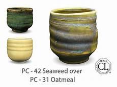 amaco ceramics amaco potter s choice layered glazes pc 31 oatmeal and pc