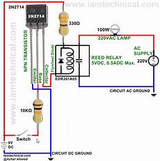 Transistor 2n2714 Switching Reed Relay Edr201a05
