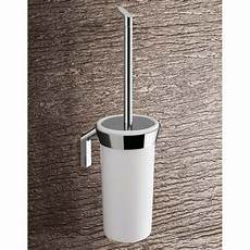 brosse wc murale brosse wc avec pot mural karma c 233 ramique blanche gedy