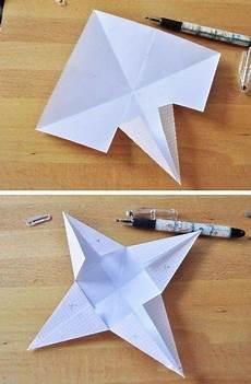 3d Papiersterne Falten Anleitung Dekoking Diy