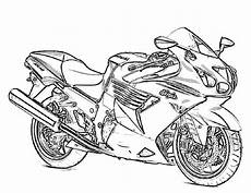 motorcycle coloring pages to and print for free