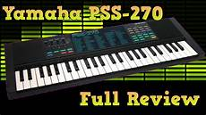 yamaha pss 270 retro keyboard review