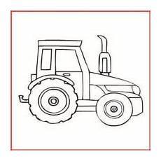 Malvorlage Einfach Malvorlage Traktor Einfach Coloring And Malvorlagan