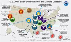 5 present weather and climate 2017 u s billion dollar weather and climate disasters a