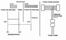 turbo timer install with aftermarket alarm dsmtuners