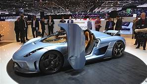 First Look At Koenigsegg Regera 1500 HP From Direct