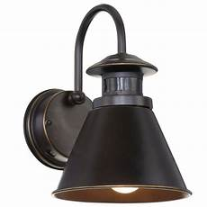 hton bay 180 degree rubbed bronze motion sensing outdoor wall lantern hb48017mp 237 the