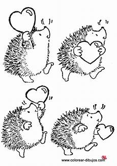 t t hedgehog with hearts with images digi sts