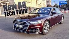2018 Audi A8 W12 585hp Tech Tour 60fps