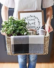 Home Decor Gift Basket Ideas by Rustic Housewarming Gift Basket Angela Made