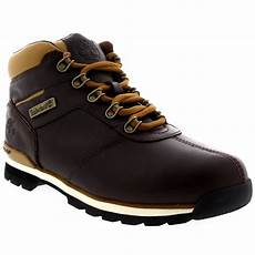 mens timberland splitrock 2 hiker winter snow lace up