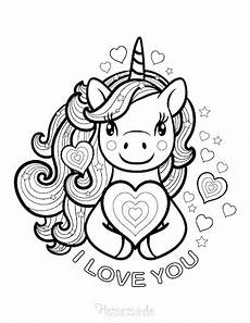 Malvorlagen Unicorn Versi 75 Magical Unicorn Coloring Pages For Adults Free