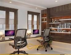 12 Ide Desain Interior Ruang Kerja Nyaman Modern Minimalis