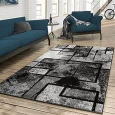 wohnzimmer teppiche teppich wohnzimmer modern abstrakte kunst grau schwarz