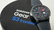 samsung gear s3 frontier unboxing overview