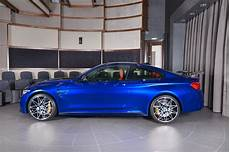 San Marino Blue Bmw M4 Is All Show With Plenty Of Go
