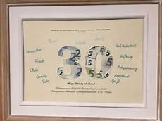 geldgeschenk zum 30 geburtstag die 30 bildet die 228 u 223 ere