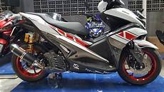 Modifikasi Yamaha Aerox by Keren Modifikasi Yamaha Aerox 155vva Modifikasi
