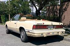Parked Cars Vancouver 1986 Chrysler Lebaron Convertible