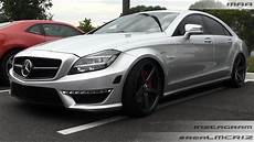 Mercedes Cls 63 Amg V8 Biturbo Renntech On Vossen