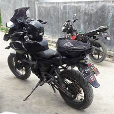 Pulsar 220 Modif by Modified Black Bajaj Pulsar 220 Adventure Modifiedx