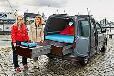 Vw Caddy Ausbau Im Wohnmobil Test Bilder Autobild De