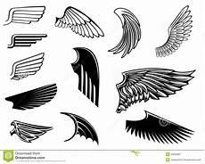 conjunto de alas 225 ldicas ilustraci 243 n vector